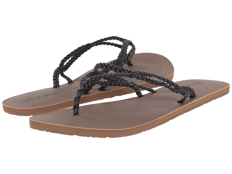 Volcom - Party (Black) Women's Sandals