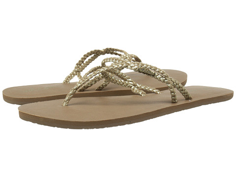 Volcom - Party (Gold) Women's Sandals