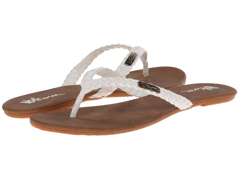 Volcom - Paradise 2 (White) Women's Sandals