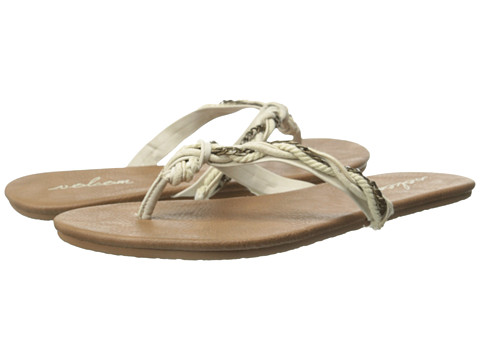 Volcom - Beach Party 2 (Cream) Women's Sandals