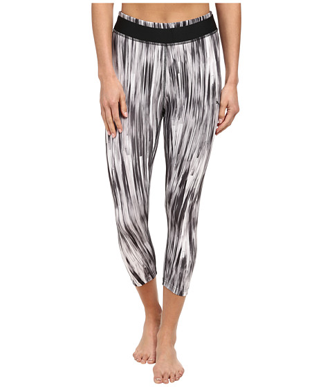 PUMA - All Eyes On Me 3/4 Tight (Black/White) Women's Capri