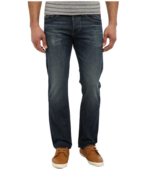 AG Adriano Goldschmied - Matchbox Slim Straight Selvage in 9 Years Morris (9 Years Morris) Men's Jeans
