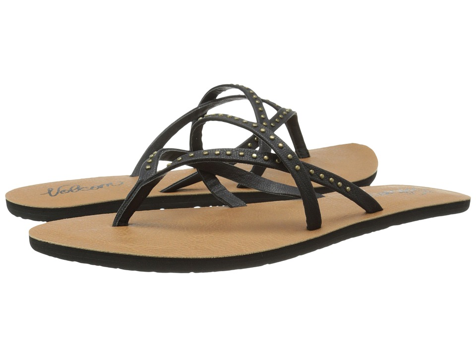 Volcom - All Day Long 2 (Black) Women's Sandals