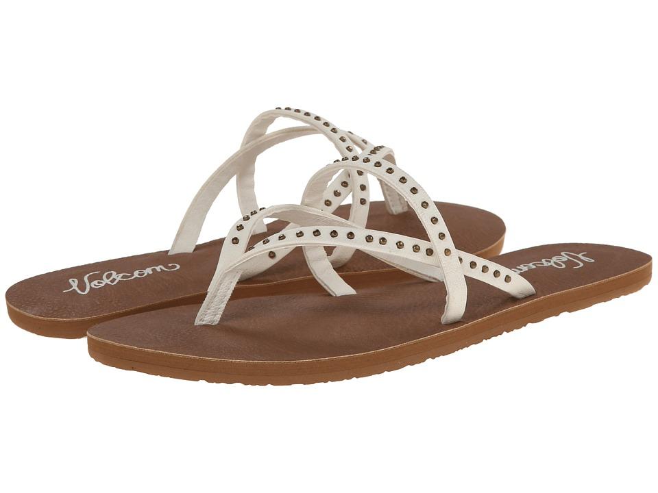 Volcom - All Day Long 2 (White) Women's Sandals