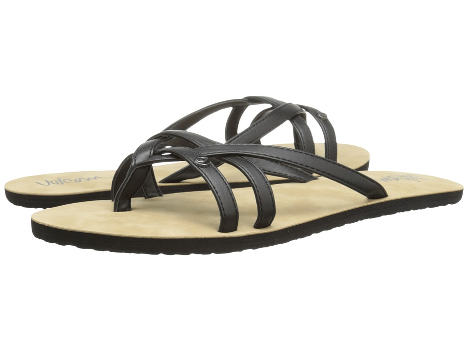 Volcom - Look Out 2 (Black) Women's Sandals