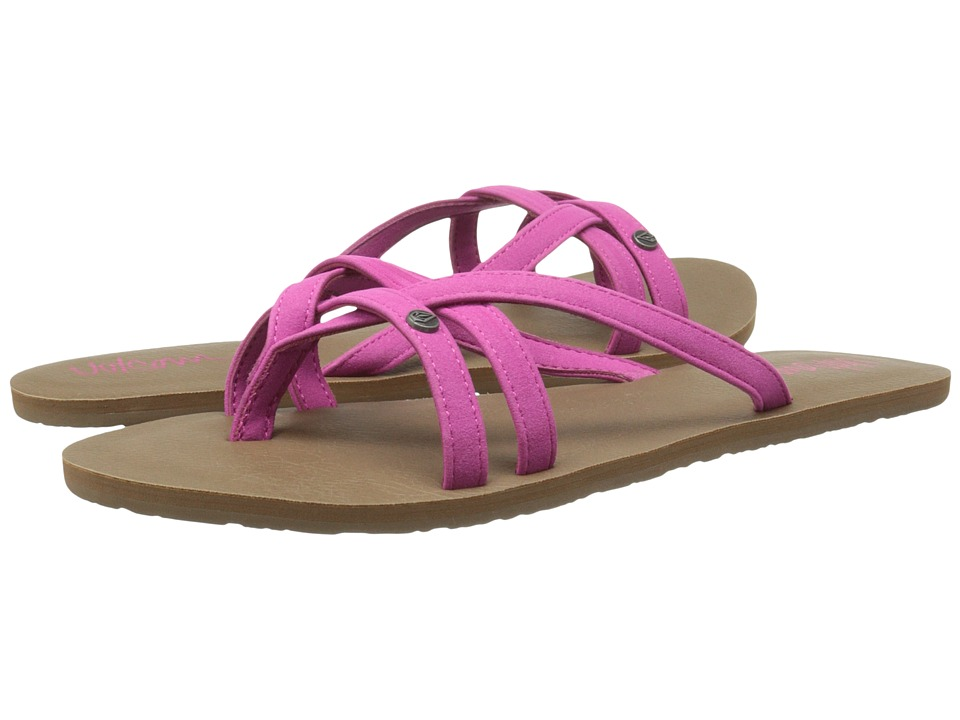 Volcom - Look Out 2 (Very Berry) Women's Sandals
