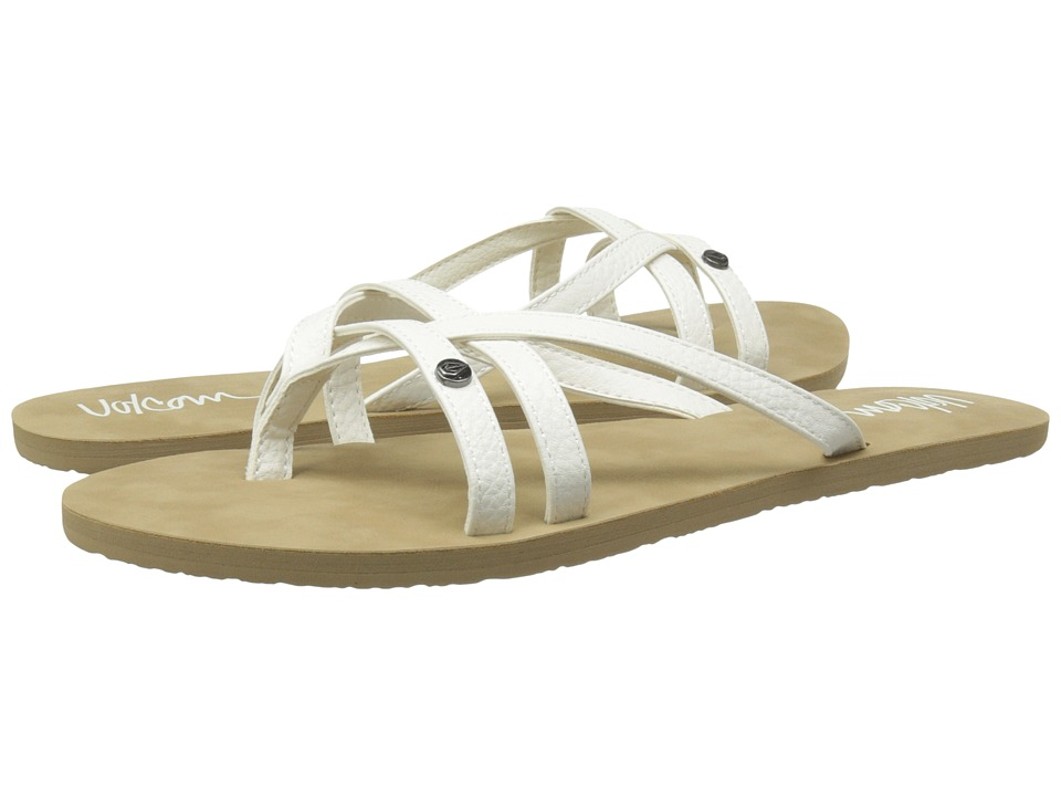 Volcom - Look Out 2 (White) Women's Sandals