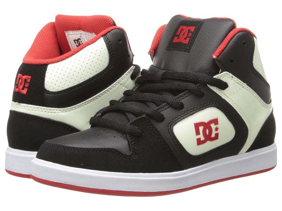 DC Kids - Union High Se (Big Kid) (Black/Glow) Boy's Shoes