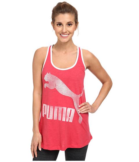 PUMA - Swing Tank (Geranium/Limestone) Women's Sleeveless