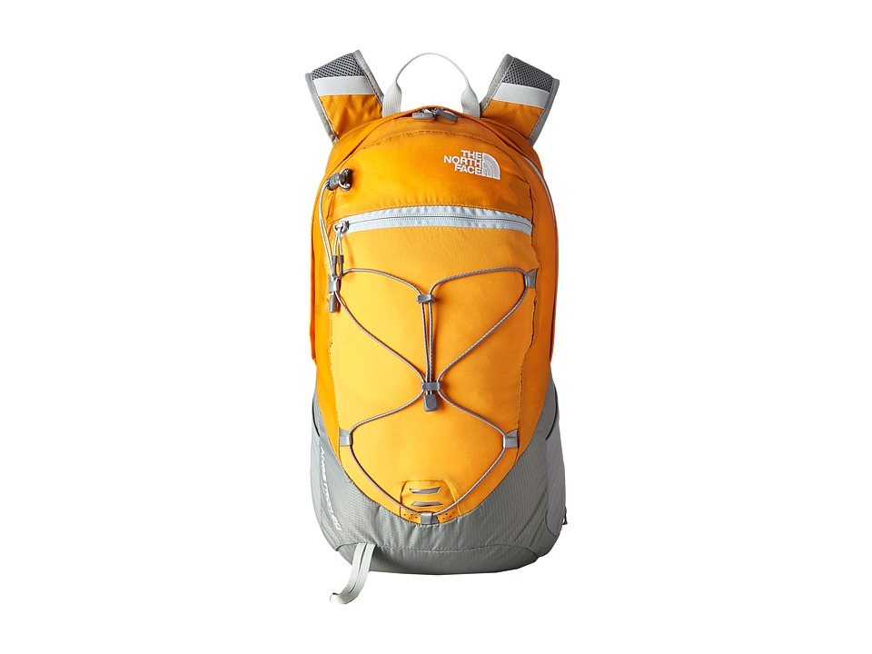 The North Face - Angstrom 20 (Brushfire Orange/Q-Silver Grey) Backpack Bags