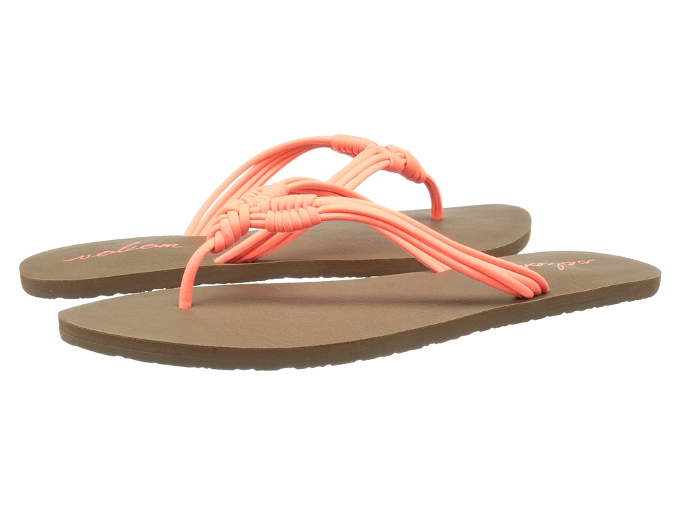 Volcom - Have Fun 2 (Electric Coral) Women's Sandals