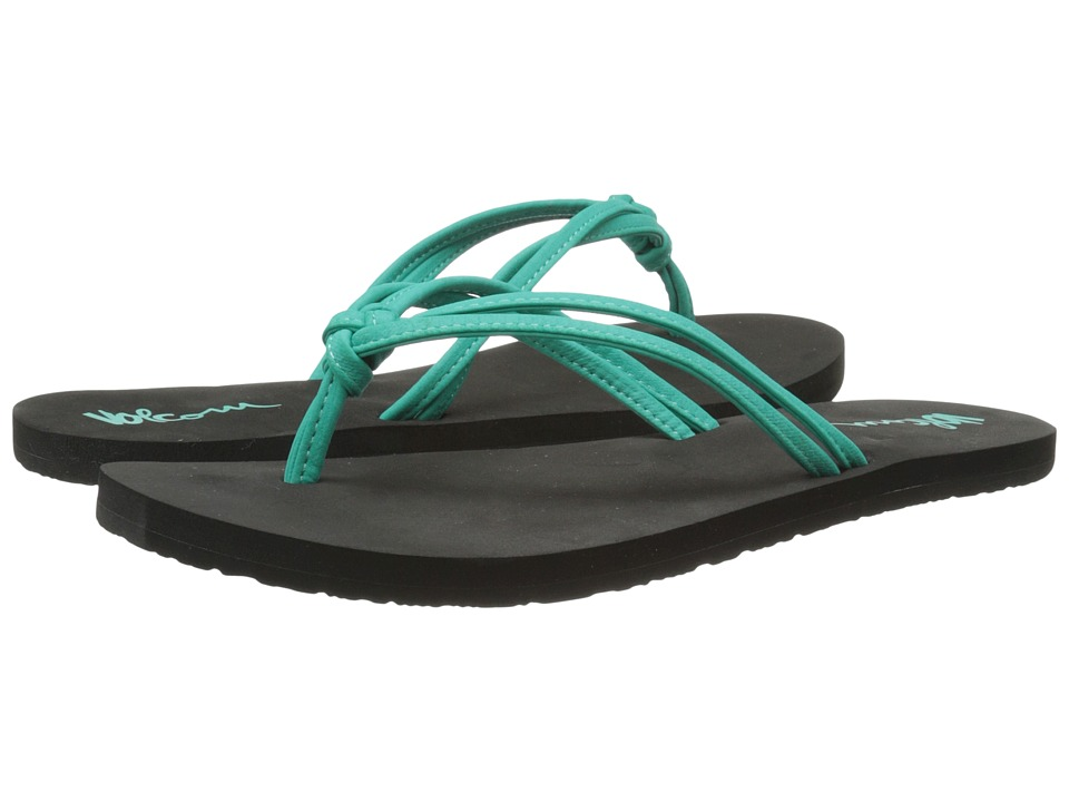 Volcom - Forever and Ever 2 (Aqua) Women's Sandals