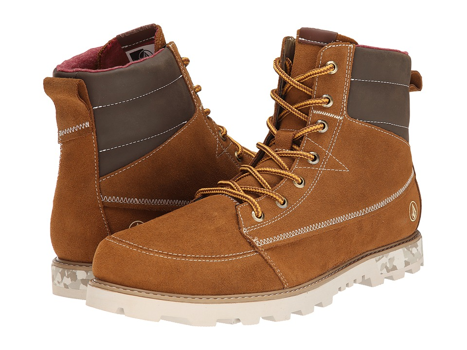 Volcom - Sub Zero 2 (Vintage Brown) Men's Lace-up Boots