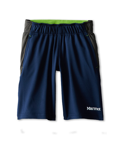 Marmot Kids - Zephyr Short (Little Kids/Big Kids) (Dark Ink/Slate Grey) Boy's Shorts