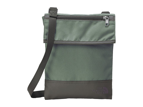 The North Face - Melody Crossbody (Laurel Wreath Green/Graphic Grey) Cross Body Handbags