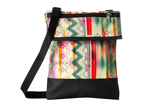 The North Face - Melody Crossbody (Glo Pink Future Folk Print) Cross Body Handbags
