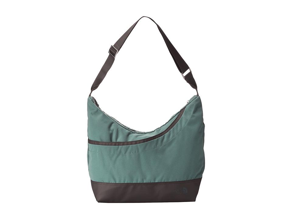 The North Face - Alexa Satchel (Laurel Wreath Green/Graphite Grey) Satchel Handbags