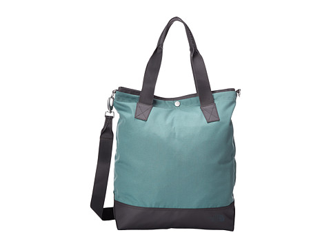 The North Face - Taylor Tall Tote (Laurel Wreath Green/Graphite Grey) Tote Handbags