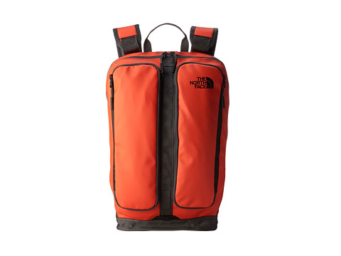 The North Face - Base Camp Lacon (Acrylic Orange/Graphite Grey) Backpack Bags