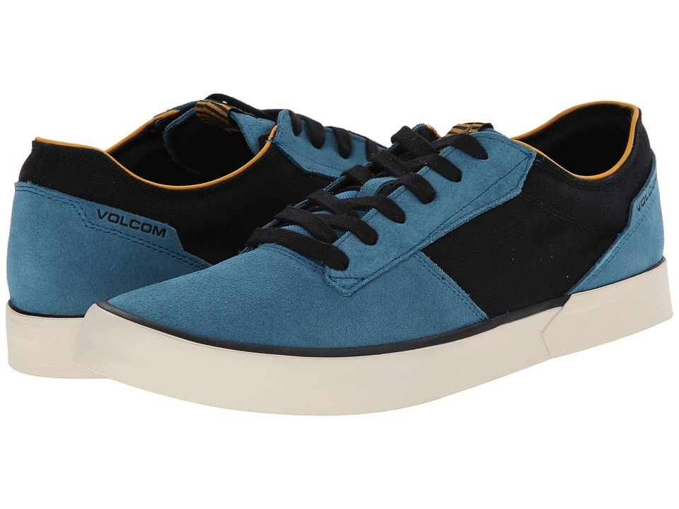 Volcom - Steelo 2 (Marina Blue) Men's Lace up casual Shoes