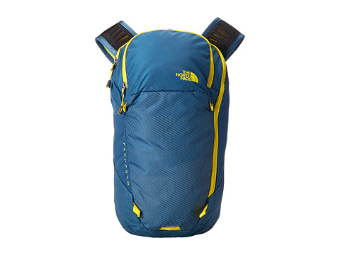 The North Face - Pachacho (Diesel Blue/Acid Yellow) Backpack Bags