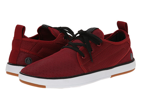 Volcom - Vaper (Blood Red) Men's Lace up casual Shoes