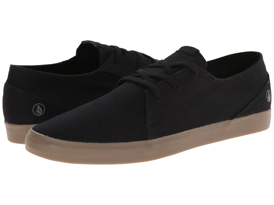 Volcom - Lo Fi 2 (Sulfur Black) Men's Lace up casual Shoes