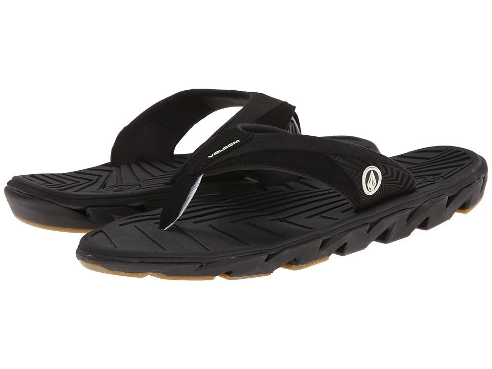 Volcom - ATR (Black) Men's Sandals