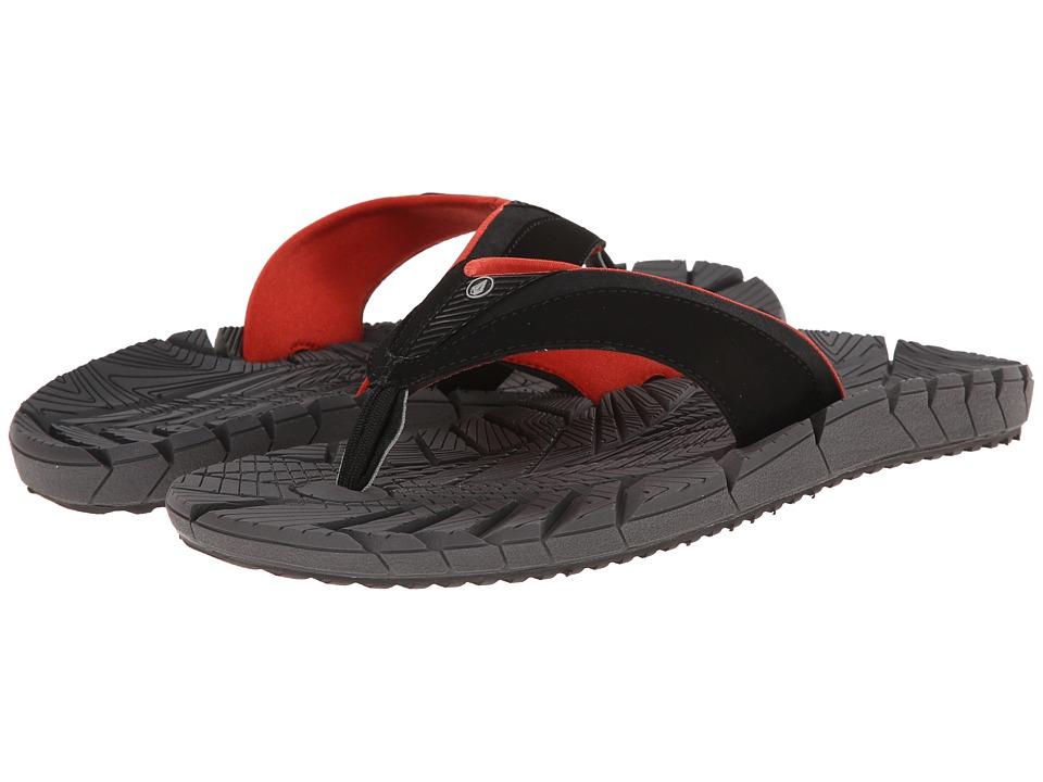 Volcom - Radial (Charcoal) Men's Sandals