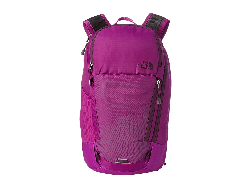 The North Face - Women's Pinyon (Magic Magenta/Black Currant Purple) Backpack Bags