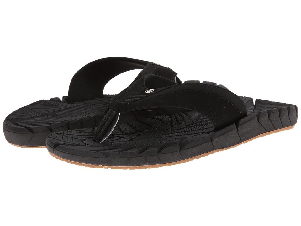 Volcom - Radial (Black 2) Men's Sandals
