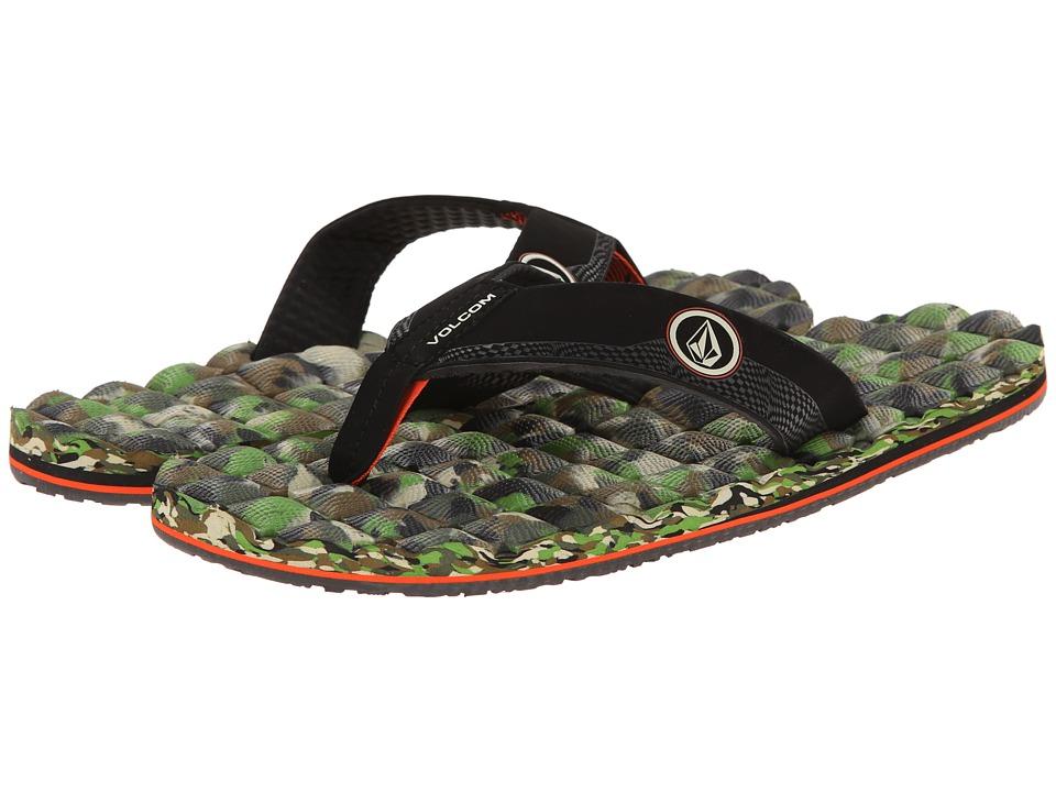 Volcom - Recliner (Camouflage) Men's Sandals