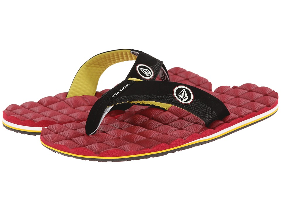 Volcom - Recliner (Deep Red) Men's Sandals