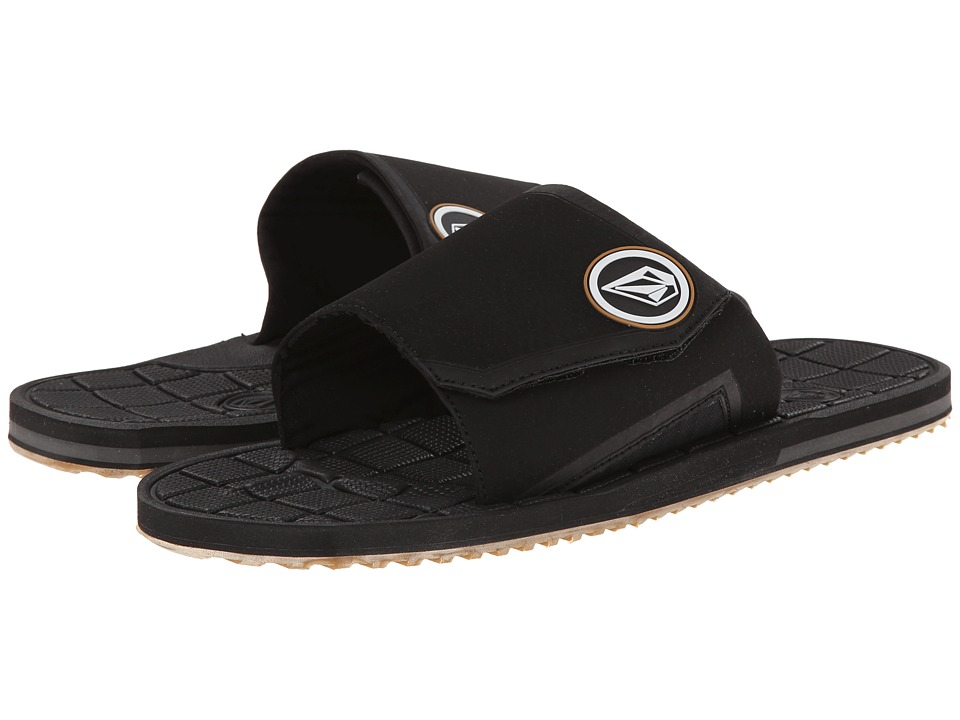 Volcom Stryker Slide (Black) Men