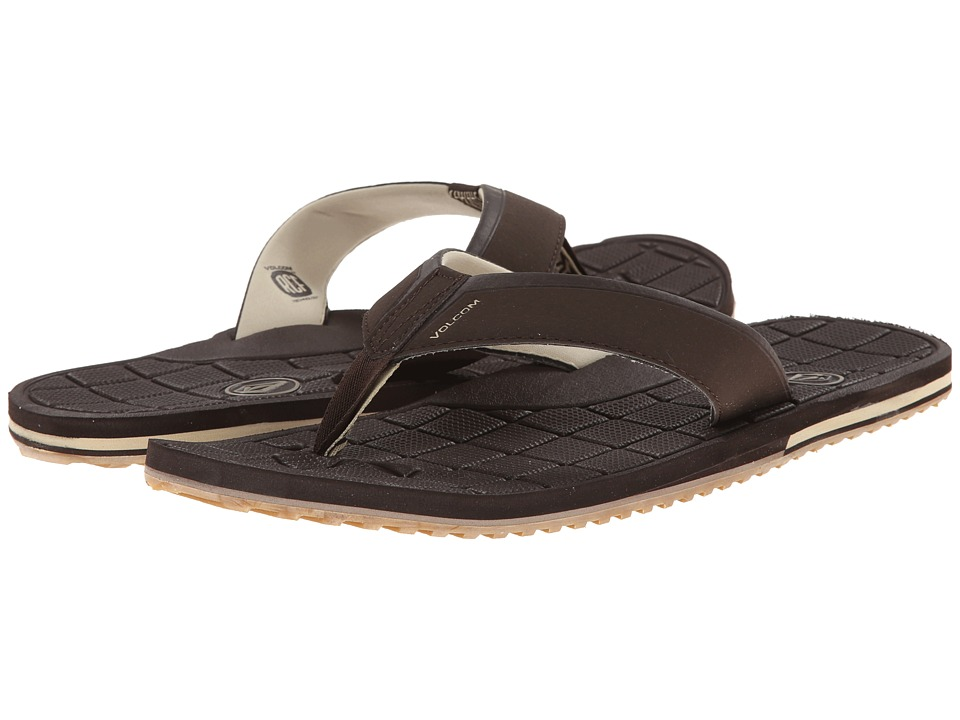 Volcom - Stryker (Brown) Men's Sandals