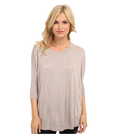 Splendid - Cashmere Blend Dolman Top (Toast) Women