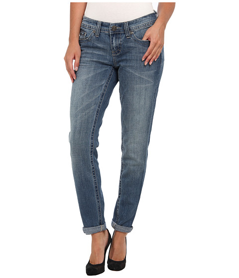 Seven7 Jeans Easy Straight in Shazam Blue (Shazam Blue) Women's Jeans
