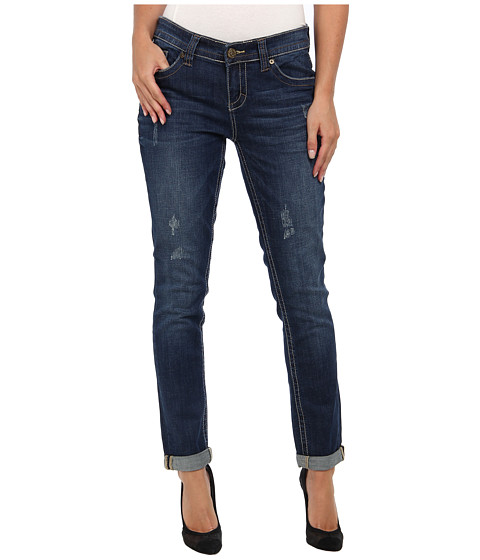 Seven7 Jeans Easy Straight in Zealot Blue (Zealot Blue) Women's Jeans