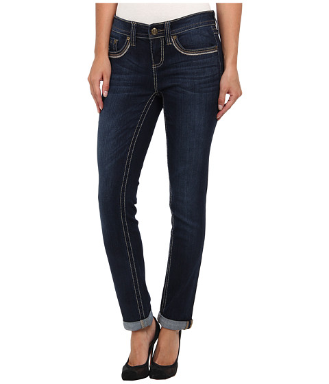 Seven7 Jeans 28 Rollcuff in Beatnik Blue (Beatnik Blue) Women's Jeans