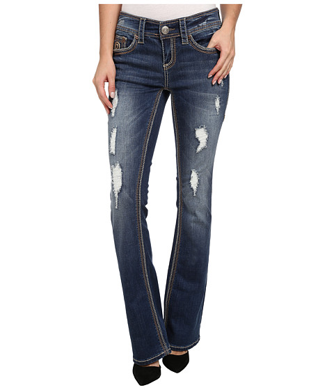 Seven7 Jeans - Boot Cut in Pioneer Blue (Pioneer Blue) Women