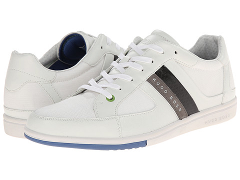 BOSS Green - Metro Digital (White) Men's Shoes