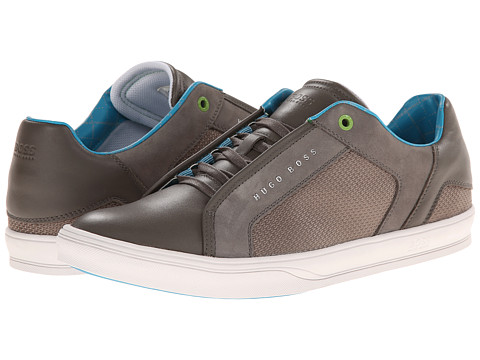 BOSS Green - Attain (Dark Grey) Men's Lace up casual Shoes