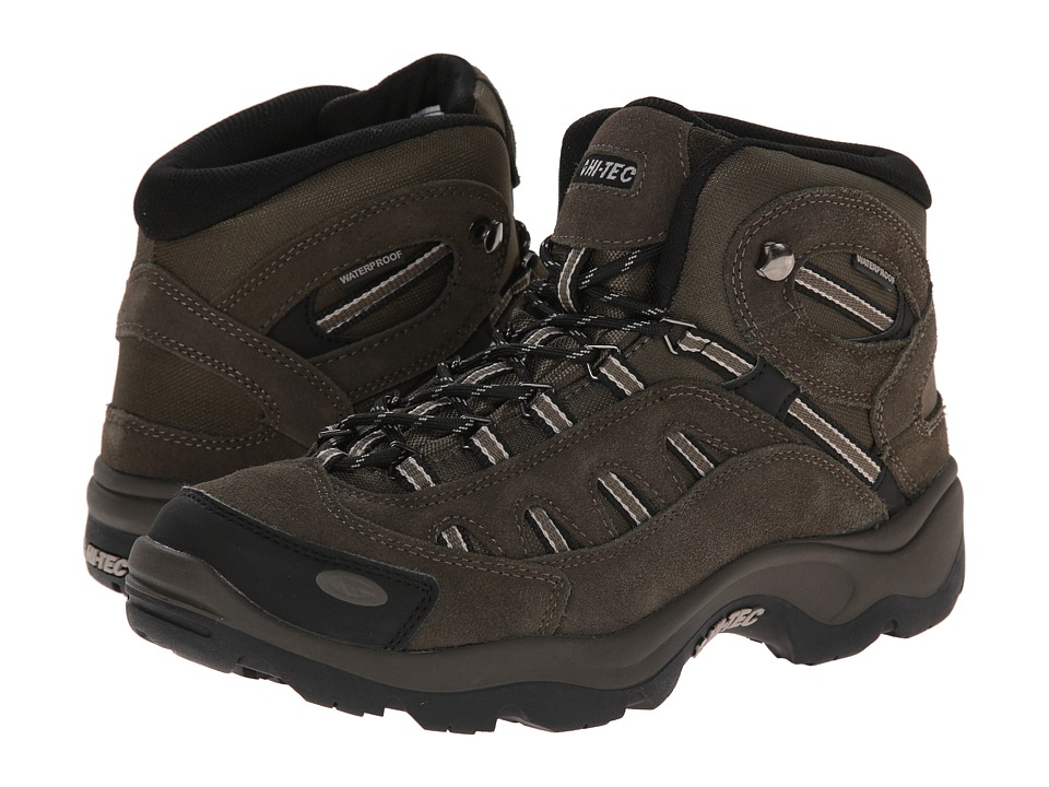 Hi-Tec - Bandera Mid Waterproof (Brown/Olive/Snow) Men's Boots
