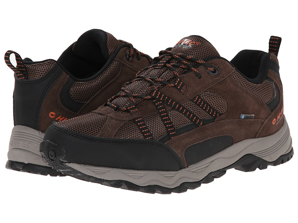 Hi-Tec - Cooper Low Waterproof (Dark Chocolate) Men