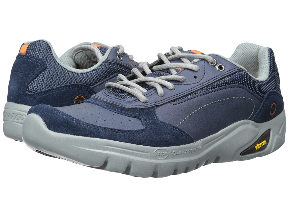 Hi-Tec V-Lite Walk-Lite Wallen (Navy/Cool Grey/Burnt Orange) Men