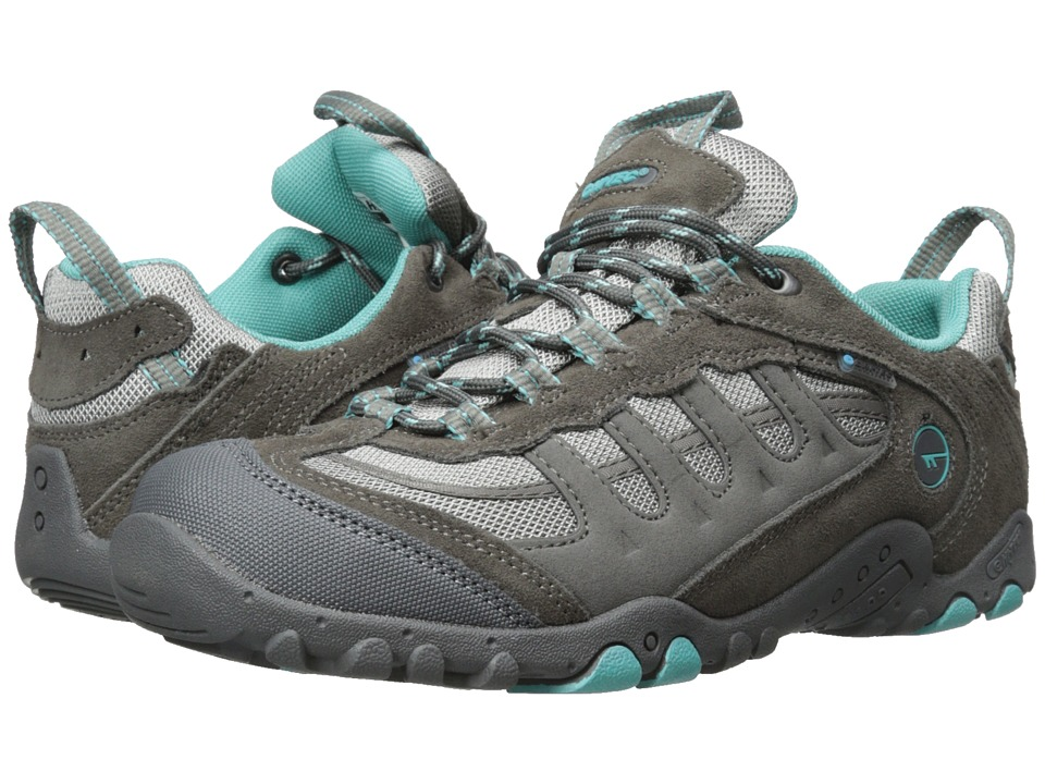 Hi-Tec - Penrith Low Waterproof (Steel Grey/Aqua) Women's Boots