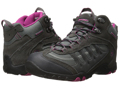 Hi-Tec - Penrith Mid Waterproof (Charcoal/Cyclamen) Women's Boots