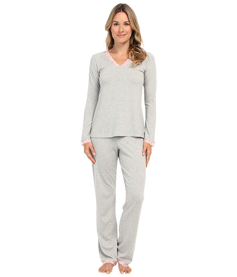 BedHead - Classic PJ (Heather Grey) Women's Pajama Sets