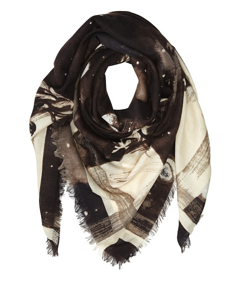 Marc by Marc Jacobs - Jupiters Ladies Scarf (Dusty White Multi) Scarves