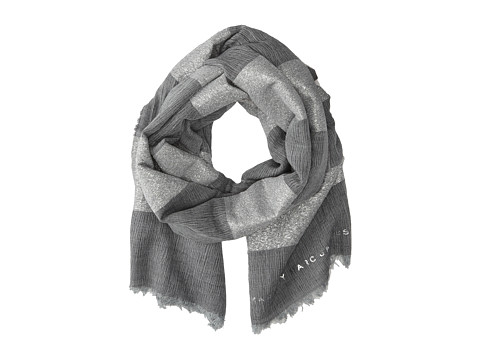 Marc by Marc Jacobs - Milkyway Stripe Scarf (Gunmetal Grey Multi) Scarves
